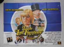 Little Lord Fauntleroy, Original UK Quad Poster, Alec Guinness, Ricky Schroder, '80.